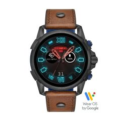 Diesel Touchscreen Smartwatch Full Guard 2.5 Brown Leather - DZT2009