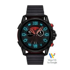 Diesel Touchscreen Smartwatch Full Guard 2.5 Black Silicone - DZT2010