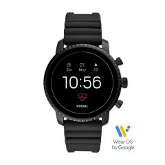 Gen 4 Smartwatch Explorist HR Black Silicone - FTW4018