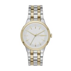 Dkny Women's Park Slope 2-Tone Round Stainless Steel Watch - NY2463