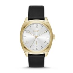 Dkny Women's Broome Gold Other Leather Watch - NY2537