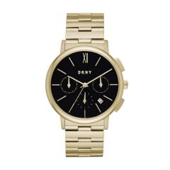 Dkny Women's Willoughby Gold Round Stainless Steel Watch - NY2540