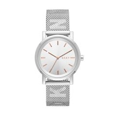 Dkny Women's Soho Silver Round Stainless Steel Watch - NY2620